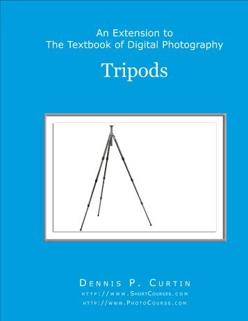 Tripods - PhotoCourse