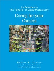 Caring for your Camera - PhotoCourse