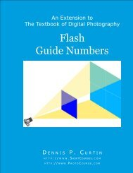 Flash Guide Numbers - PhotoCourse