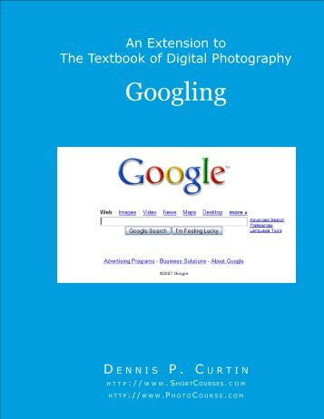 Googling - PhotoCourse