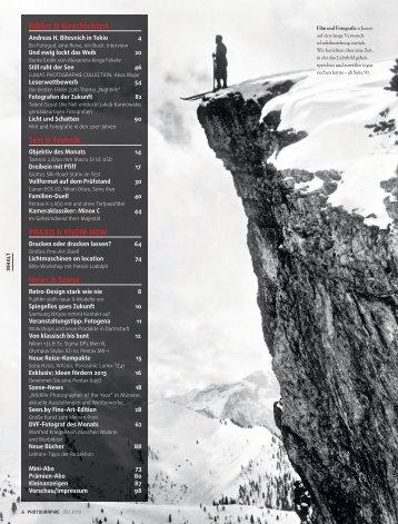 PDF-Inhalt - Photographie
