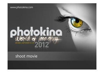 shoot movie - Photokina