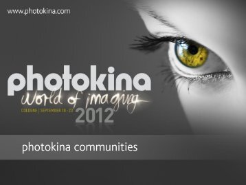 Photokina Communities