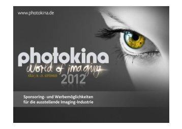 Sponsoring- und Werbemöglichkeiten für die ... - Photokina