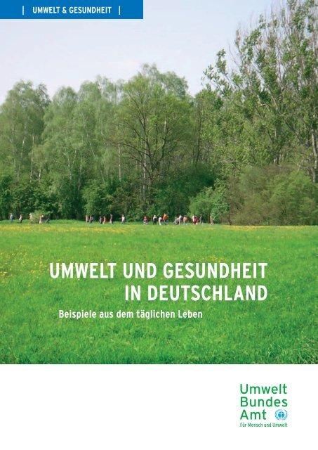 Umwelt und Gesundheit in Deutschland - Bundesinstitut für ...