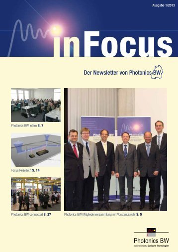 InFocus 1-2013 - Photonics BW eV