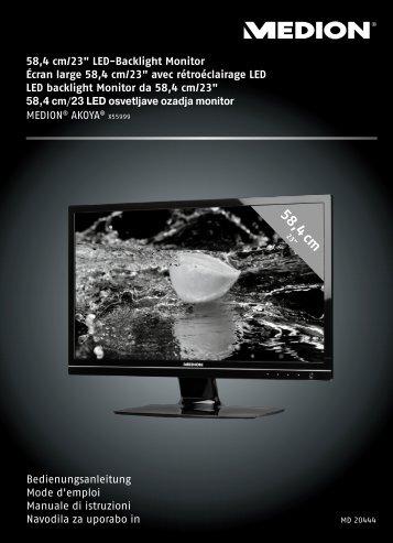 58 4 cm - Medion