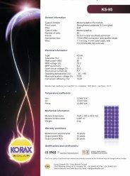 KS-95 - Photovoltaik