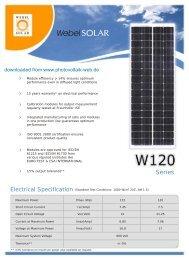 Series - Photovoltaik