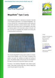 MS Typ 3 poly - Photovoltaik
