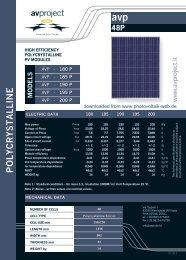 POLYCRYSTALLINE - Photovoltaik