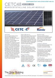 CETC48 - Photovoltaik