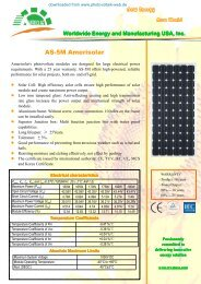 AS-5M Amerisolar - Photovoltaik