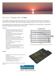 eSun 1200 Spec Sheet for Email and Web - Photovoltaik