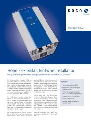 Hohe Flexibilität. Einfache Installation. - Photovoltaik Forum