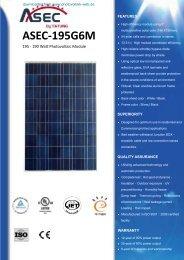 ASEC-195G6M - Photovoltaik