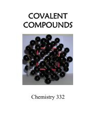 for covalent compounds or ions