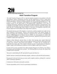 Adult Transition Program - Palatine High School - Township High ...