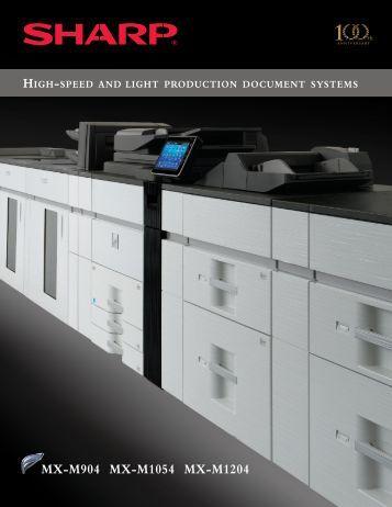 MX-M904 - Des Plaines Office Equipment Company