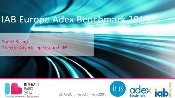 IAB Europe AdEx Benchmark presentation at Interact 2014