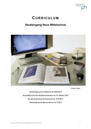 Curriculum NMS - PH Salzburg
