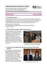 November 2008 - Pädagogische Hochschule Wien