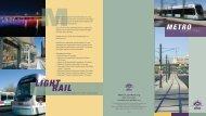 to download the metro light rail brochure - Phoenix Art Museum