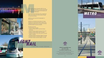 to download the metro light rail brochure - Phoenix Art Museum