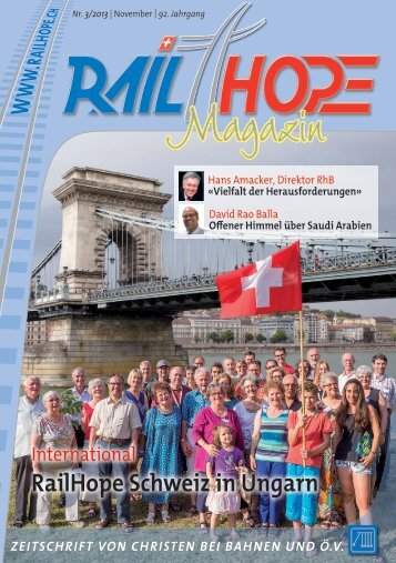 RailHope Magazin 3/2013