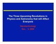 Nanotechnology (10.2 MB) - Duke Physics