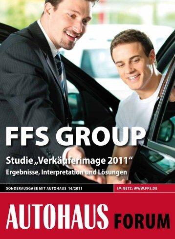 """studie ?Verkäuferimage 2011"""" ergebnisse, interpretation und - FFS"""