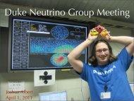 group meeting 040111.pdf - Duke Physics