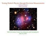 W - Duke Physics - Duke University