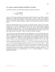 Lyapunov exponents - ChaosBook org