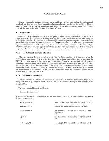 Analysis_Software