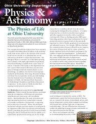 Physics & Astronomy Alumni Newsletter PDF - Department of ...