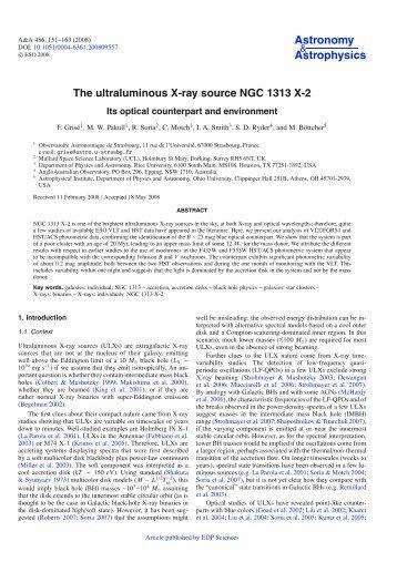 PDF (1.220 MB) - Astronomy & Astrophysics