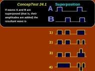 Chap. 24 Conceptual Modules Giancoli
