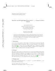 arXiv:hep-ex/0501067 v1 27 Jan 2005 - Physics and Astronomy ...