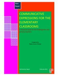 COMMUNICATIVE EXPRESSIONS FOR THE ELEMENTARY CLASSROOMS