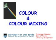 PPT Presentation - University of Cape Town