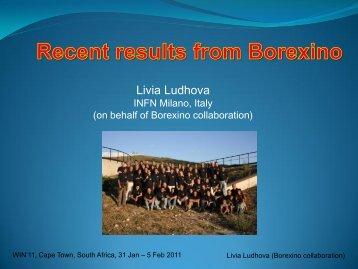 Livia Ludhova - University of Cape Town