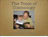 the basic theoretical and observational tools of modern cosmology