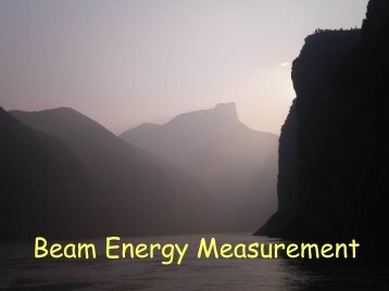 BESIII Beam Energy Measurement System