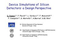 Device Simulations of Silicon Detectors: a Design Perspective