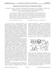 Quantum and Classical Chirps in an Anharmonic Oscillator - Physics ...