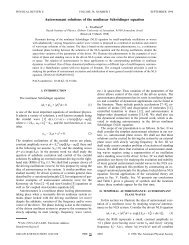 Autoresonant solutions of the nonlinear Schrödinger equation