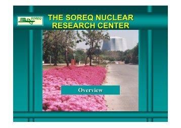 Soreq - Racah Institute of Physics