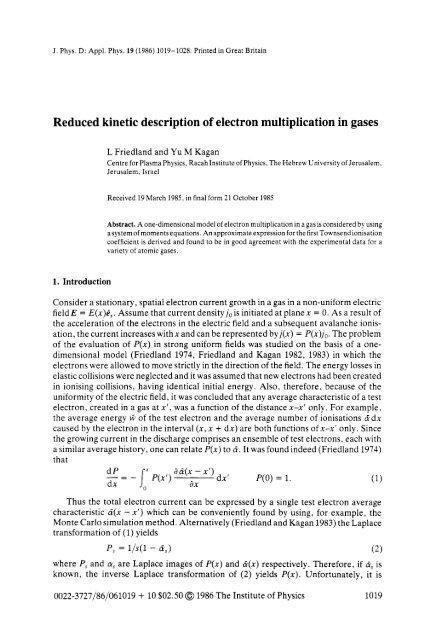 J  Phys  D: Appl  Phys  19 - Racah Institute of Physics
