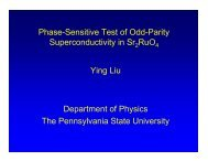 k - Department of Physics